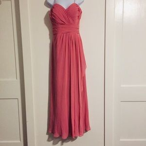 Bill Levkoff Sleeveless Bridesmaid Dress 12""